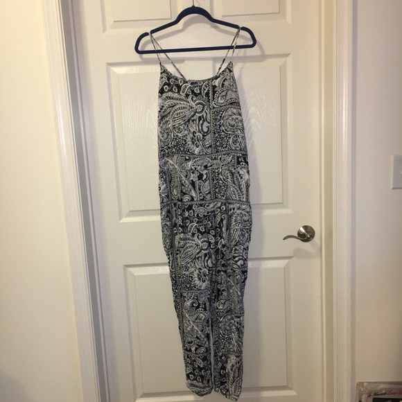 Ambiance Pants - 👣NWT~ Black & White Classic Jumpsuit👣